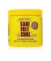 Care Free Curl chemical rearranger