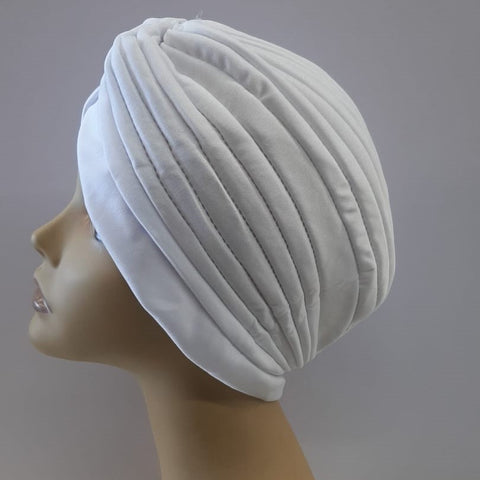 Magic Gold Turban (White)