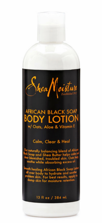 Shea Moisture African Black Soap Body Lotion 13 oz