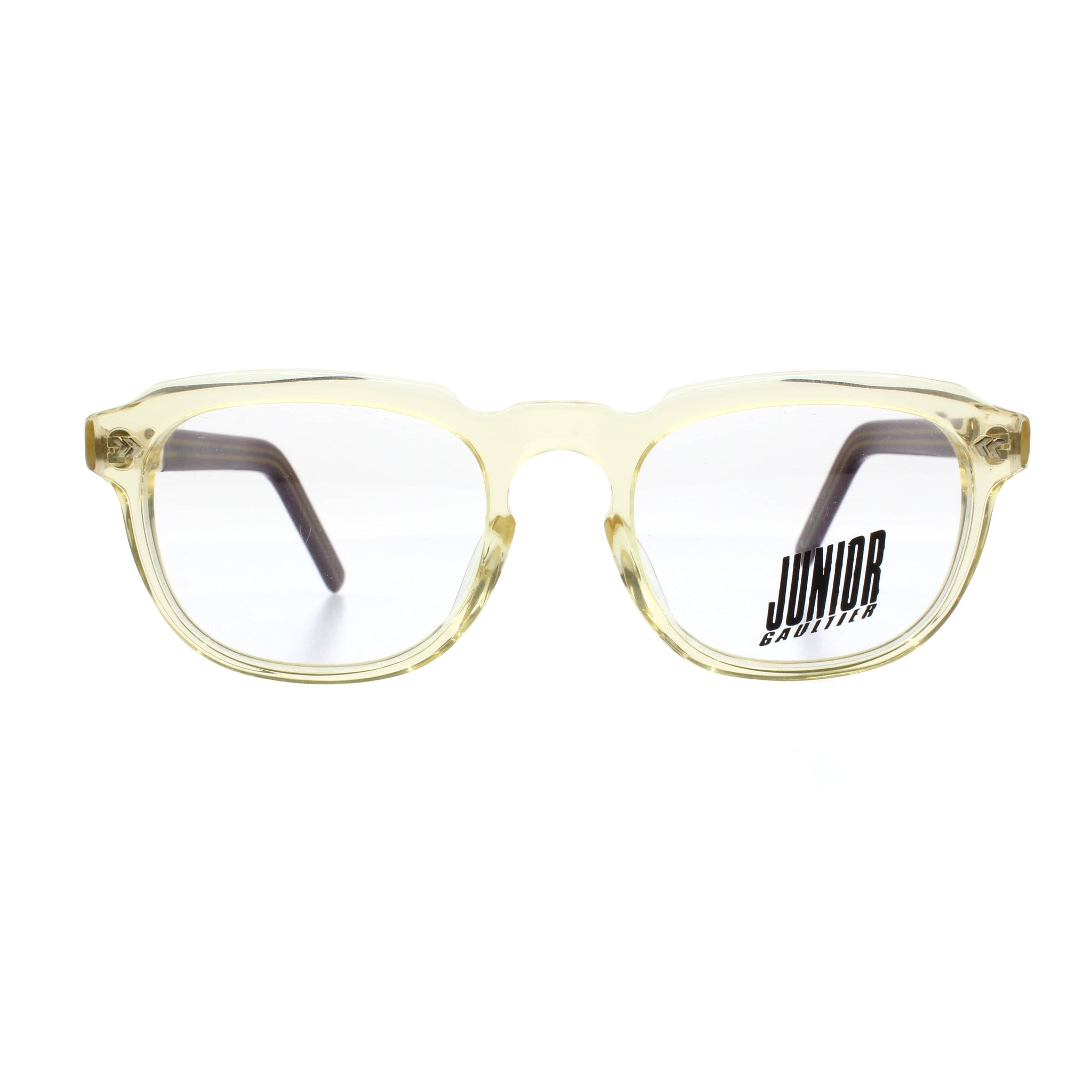Clear Vintage Junior Gaultier 57-1071 Sunglasses RSTKD Vintage