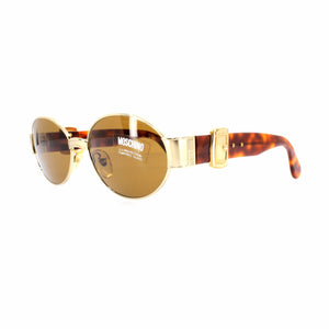Gold Vintage Moschino MM3002-S Sunglasses RSTKD Vintage