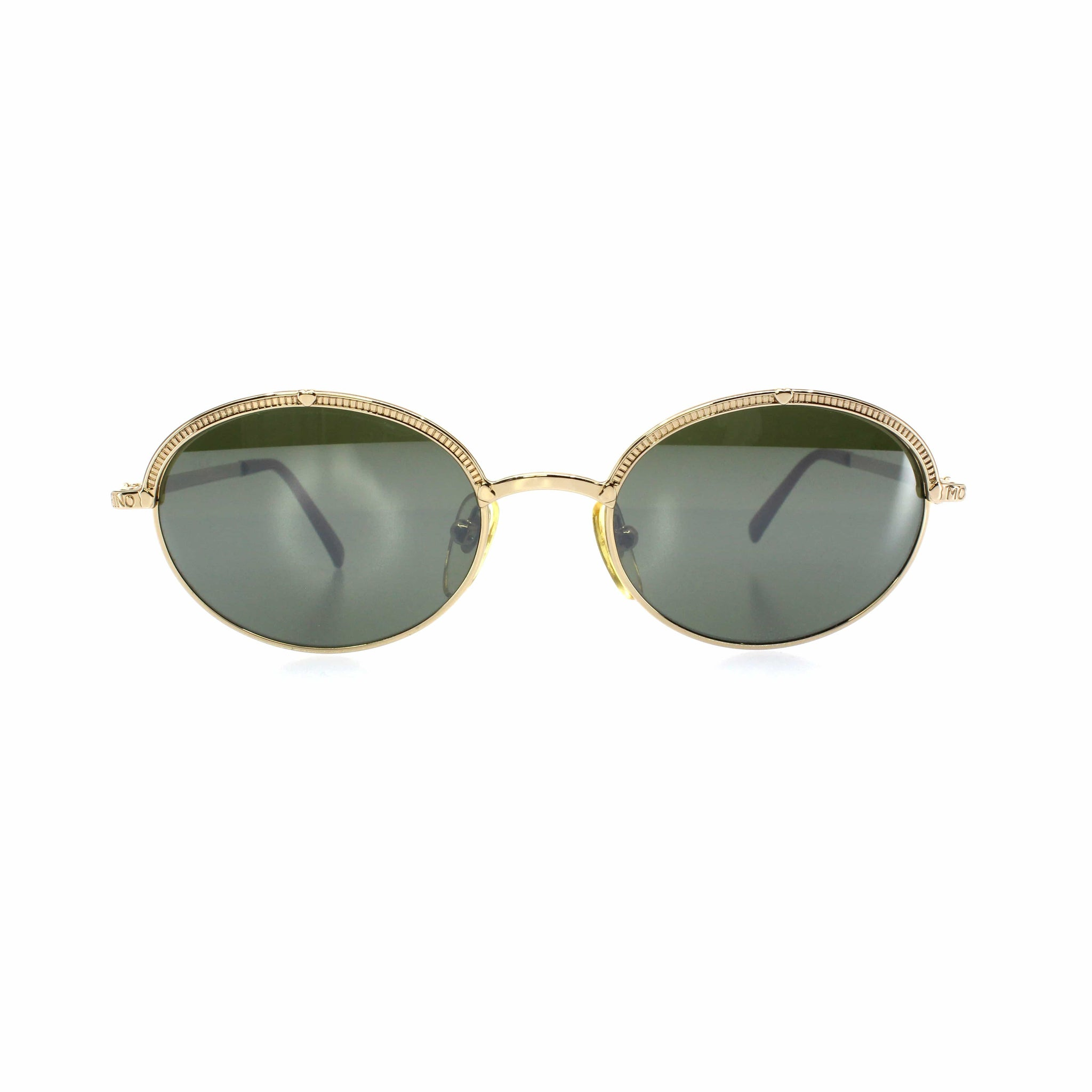 Gold Vintage Moschino MM3003-S Sunglasses RSTKD Vintage