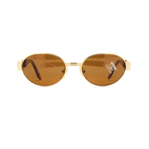 Gold Vintage Moschino MM3004-S Sunglasses RSTKD Vintage