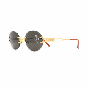 Gold Vintage Moschino MM3009-S Sunglasses RSTKD Vintage