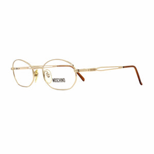 Gold Vintage Moschino MM3013-V Glasses RSTKD Vintage