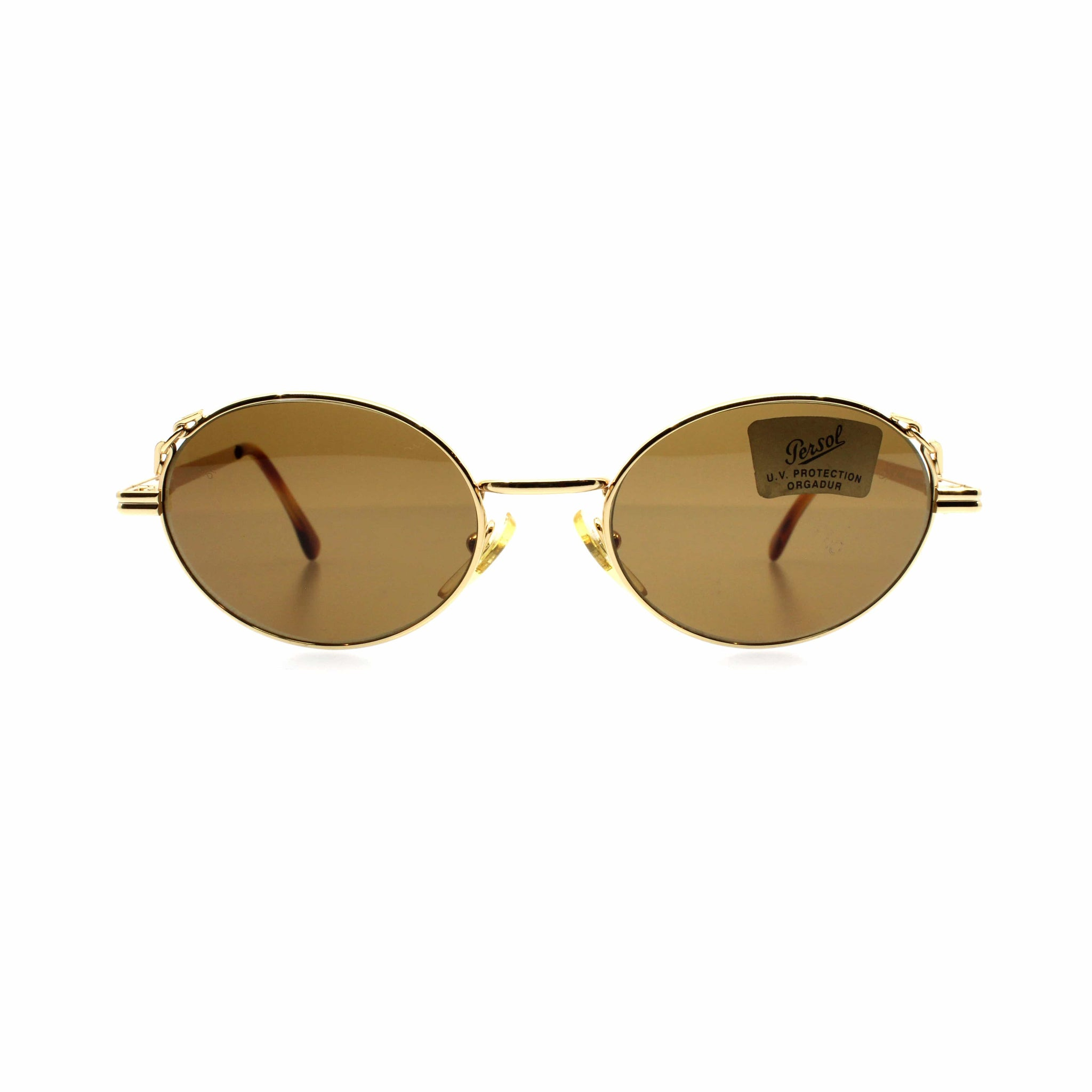 Gold Vintage Moschino MM464 Sunglasses RSTKD Vintage