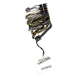 Jean Paul Gaultier Multi Chain and Clasp Bracelet RSTKD Vintage