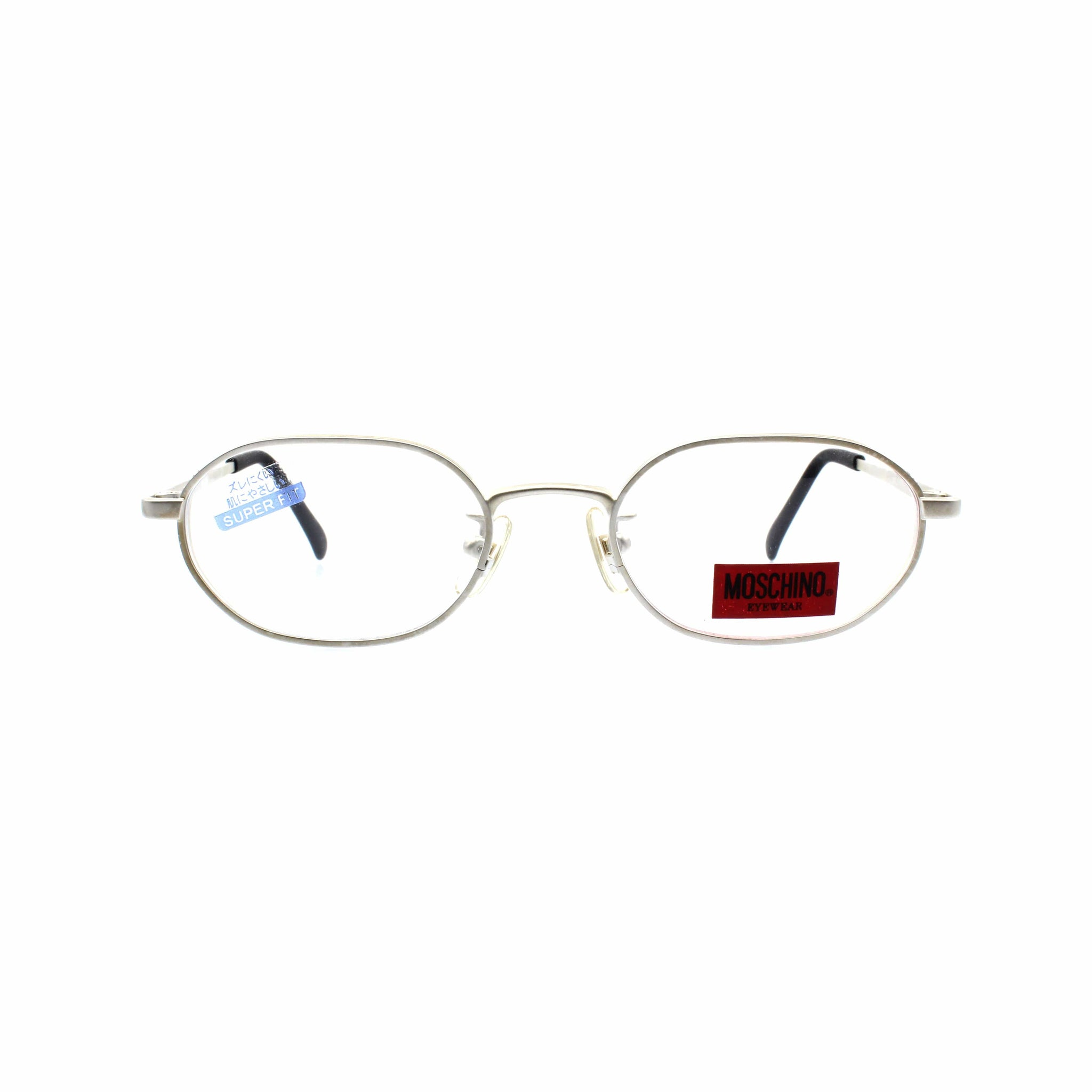 Silver Vintage Moschino MO5830 Glasses RSTKD Vintage