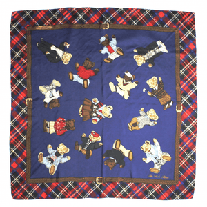 The Polo Bear Ralph Lauren Scarf RSTKD Vintage