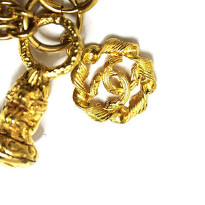 Vintage Chanel Triple Chain with Charms Chain RSTKD Vintage