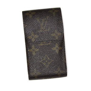 Vintage Louis Vuitton Monogram Cigarette Case RSTKD Vintage