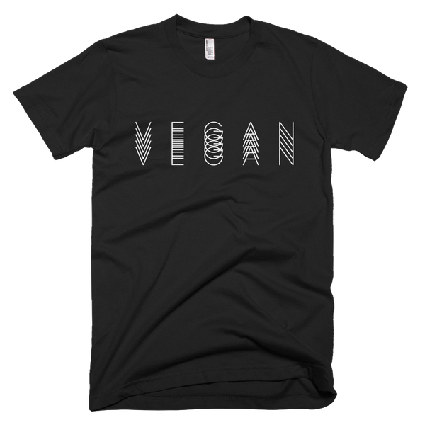 Short sleeve men's t-shirt vegan