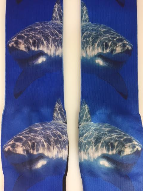 Shark Crew Socks - Swim with the Sharks