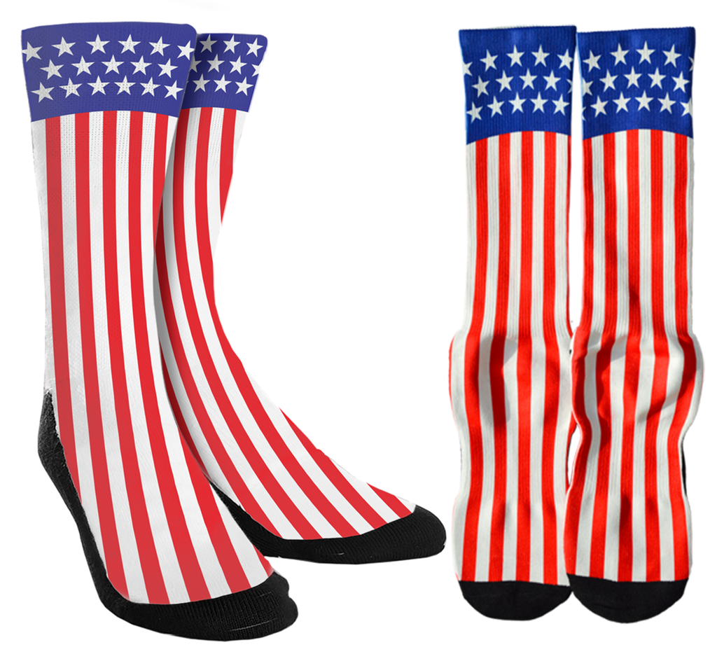 It's Time to Get Patriotic with USA American Flag Socks