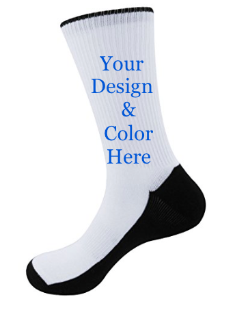 custom socks, customized socks, design your socks, custom crew socks, custom wedding socks, groomsmen socks, socks for groomsmen, customize your own socks, socks for weddings, personalized crew socks