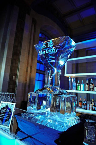 Fun things to do at wedding, ice luge, cool things to do at wedding