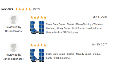 Shark Socks, Shark Crew Socks, Mens shark socks, shark socks for men, boys shark socks, crazy shark socks