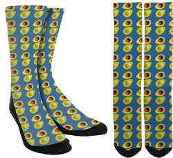 New Avocado Crew Socks - SockAndShop