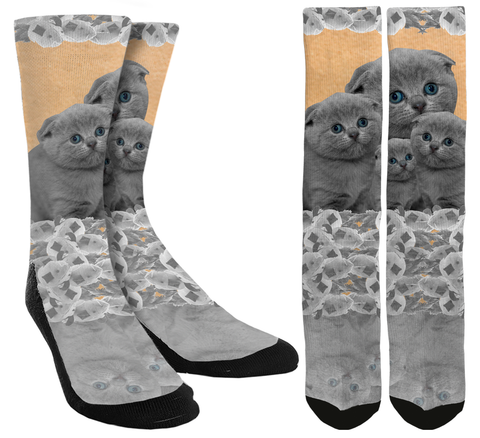 Kitty Crew Socks - SockAndShop