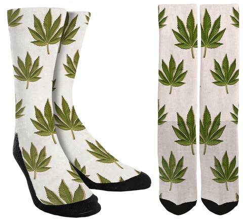 Marijuana Crew Socks - SockAndShop