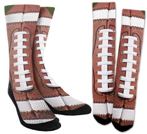 Football - Football Crew Socks - SockAndShop