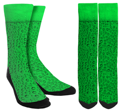 Saint Patricks Day - Green Beer St. Paddy's Day Crew Socks - SockAndShop
