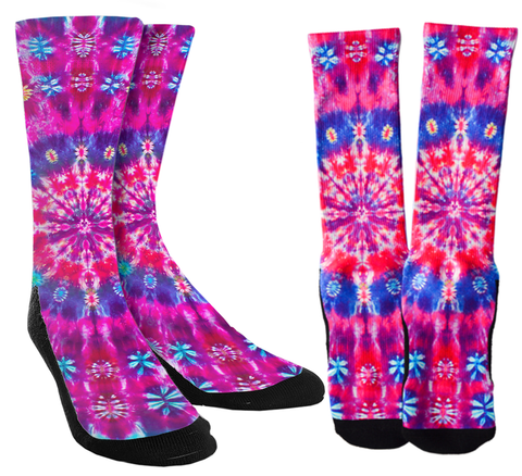 Tie Dye Crew Socks Vol. 3 - SockAndShop