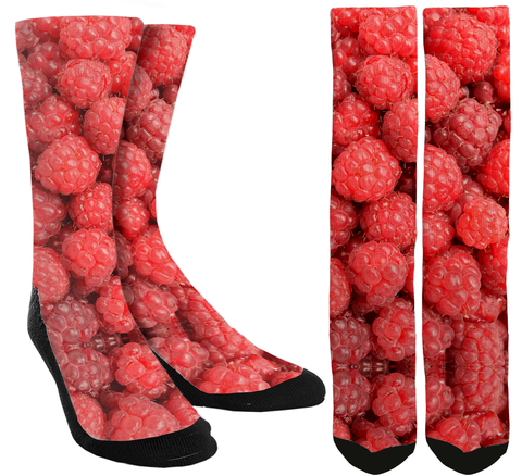 New Raspberry Crew Socks - SockAndShop