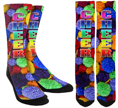 Cheerleading - Cheer Crew Socks - SockAndShop