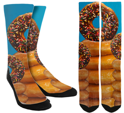 Donuts Galore Crew Socks