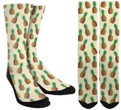 New Pineapple Crew Socks - SockAndShop