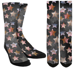 Star Crew Socks - SockAndShop