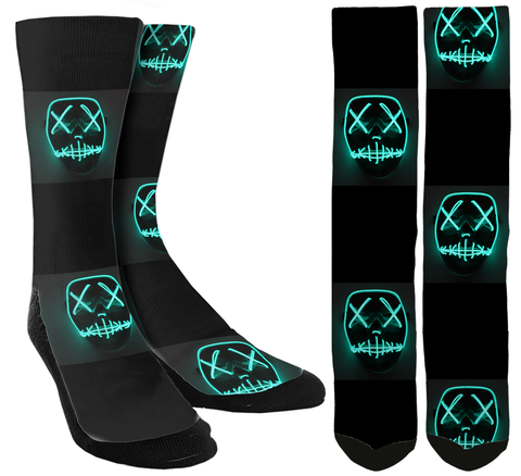 New Rave Crew Socks - SockAndShop