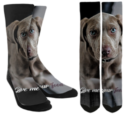 Give Me Your Food Crew Socks - SockAndShop