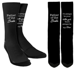 Wedding Socks - Father of the Bride Crew Socks - SockAndShop