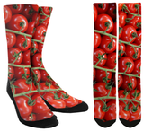 New Tomatoes Crew Socks - SockAndShop