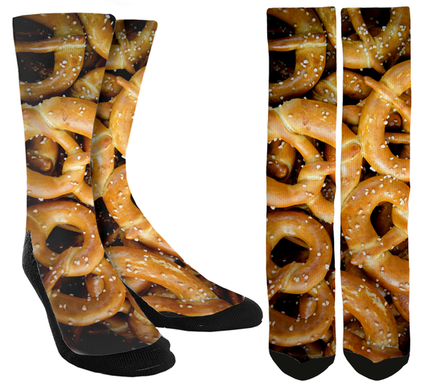 New Pretzel Crew Socks - SockAndShop