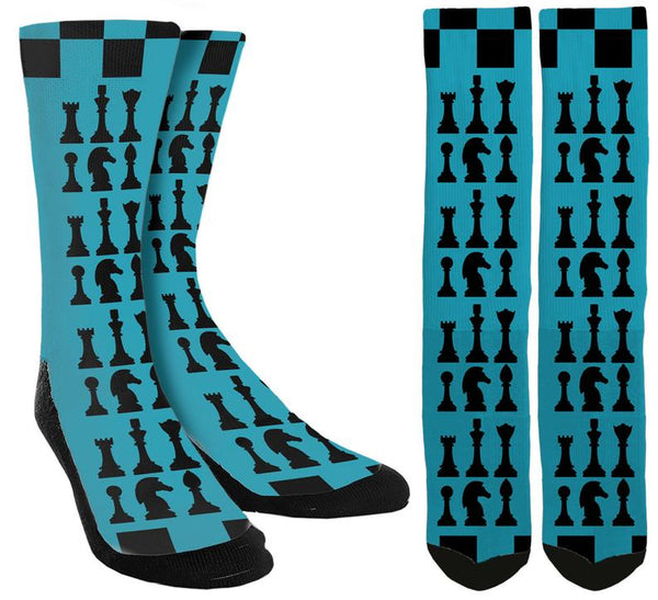 Chess Crew Socks - SockAndShop