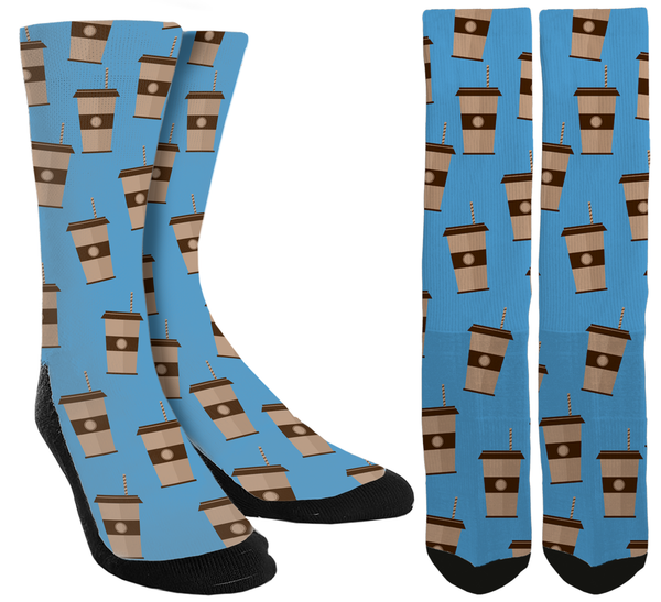 Coffee Crew Socks - SockAndShop
