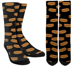 hot dog socks, unique socks, cool socks, funny socks,  awesome socks, crew socks, cute socks, crazy socks, crazy socks for women, girls socks, boys socks, socks for boys, socks for girls, awesome socks, funny socks, crazy socks for men, socks for men, socks for women, mens novelty socks