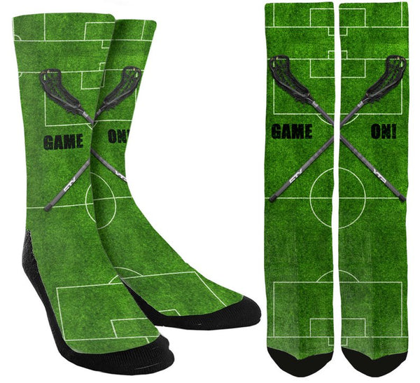 "Lacrosse ""Game On"" Socks - SockAndShop"