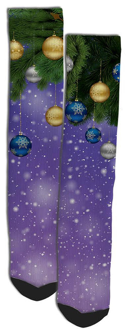 Holiday Crew Socks - Crazy Socks-Unique Socks- Funny Socks - SockAndShop