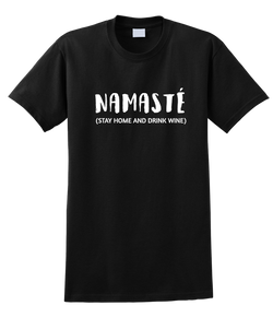 Namaste (Stay Home And Drink Wine) - SockAndShop