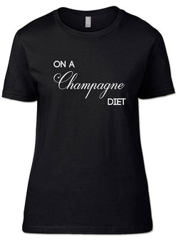 On a Campagne Diet T-Shirts - SockAndShop