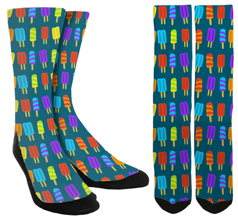 Popsicle Crew Socks - SockAndShop
