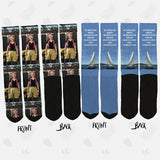 Custom Socks - Custom Photo Socks - Any Design Possible - SockAndShop
