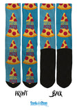 New I Love You More Than I Love Pizza - SockAndShop