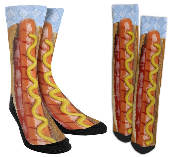 Hot Dog Crew Socks - SockAndShop
