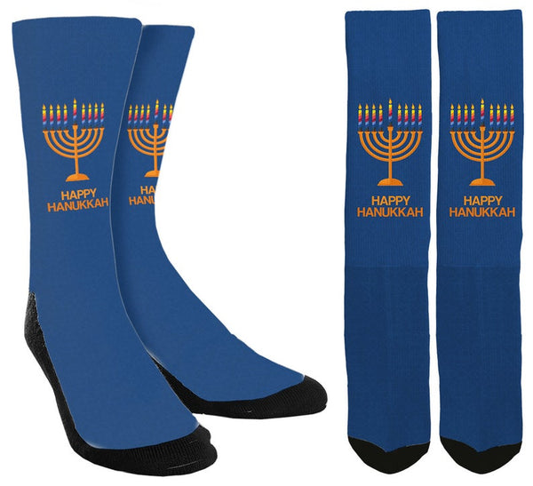 Happy Hanukkah Socks - SockAndShop