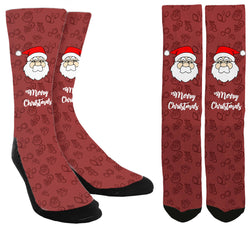 Merry Christmas Crew Socks - SockAndShop